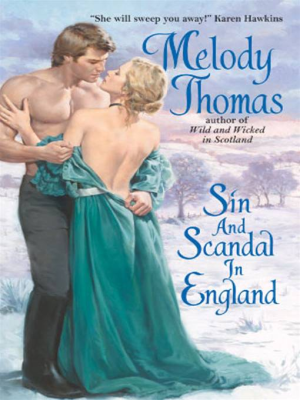 REVIEW:  Sin and Scandal in England by Melody Thomas