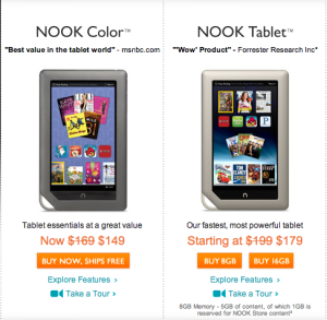 Daily Deals: Discounted Nooks; Historical, YA and Fantasy