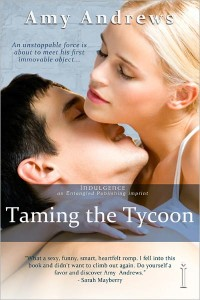 Taming the Tycoon Amy Andrws