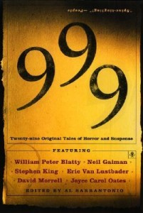 999: Twenty-nine Original Tales of Horror and Suspense by Al Sarrantonio