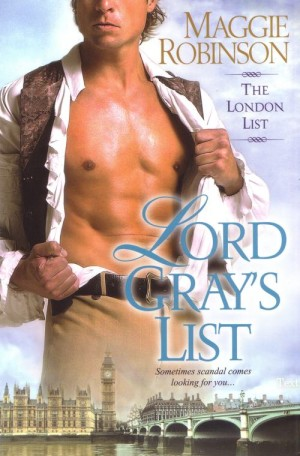 REVIEW:  Lord Gray's List by Maggie Robinson