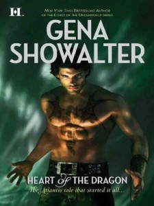 Heart of the Dragon (Atlantis) Gena Showalter