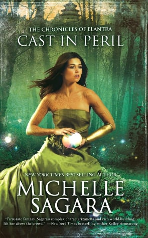 REVIEW:  Cast in Peril by Michelle Sagara