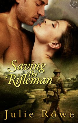 REVIEW:  Saving the Rifleman by Julie Rowe
