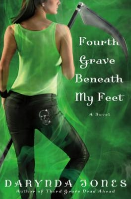 Giveaway and Excerpt:  Fourth Grave Beneath My Feet      by     Darynda Jones