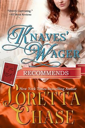 REVIEW:  Knaves' Wager by Loretta Chase