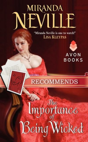 JOINT REVIEW:  The Importance of Being Wicked by Miranda Neville