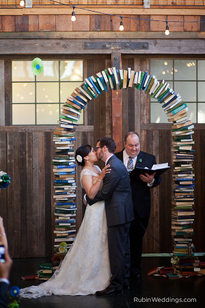 Monday News: A Bookish Wedding; Wall Street's love affair with Amazon; Disaster supply kit list