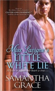 Miss Lavigne's Little White Lie by Samantha Grace