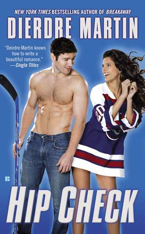 REVIEW:  Hip Check by Dierdre Martin