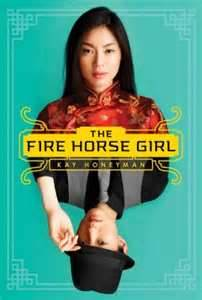 REVIEW:  The Fire Horse Girl by Kay Honeyman