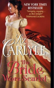 The Bride Wore Scarlett by Liz Carlyle