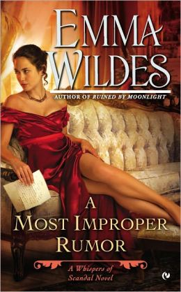 REVIEW:  A Most Improper Rumor by Emma Wildes