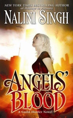 GUEST REVIEW:  I'm Lovin Angels Instead – Angel's Blood by Nalini Singh