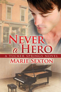 Never A Hero cover