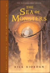The Sea of Monsters Rick Riordan