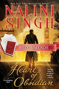 Dear Author Book Club: Heart of Obsidian by Nalini Singh