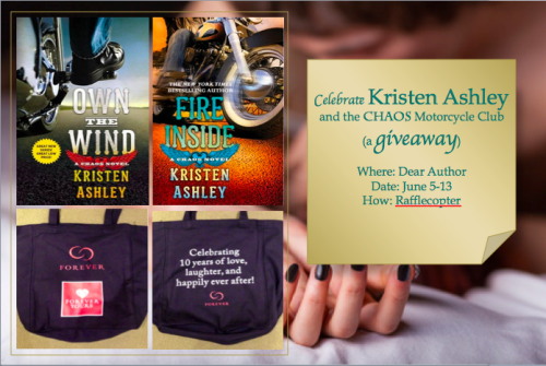 Kristen Ashley Giveaway