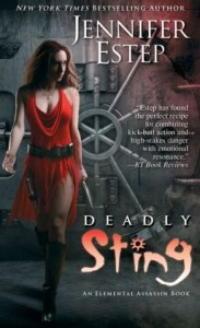 Deadly Sting (Elemental Assassin Series #8)      by     Jennifer Estep