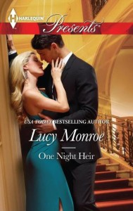 One Night Heir Lucy Monroe