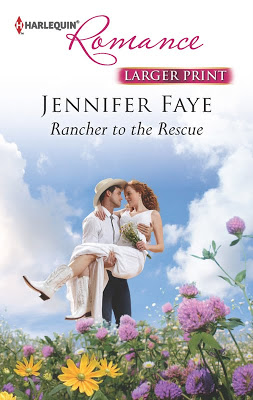 Debut Print Book: Rancher To The Rescue by Jennifer Faye
