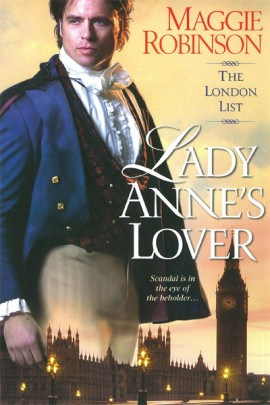 REVIEW:  Lady Anne's Lover by Maggie Robinson