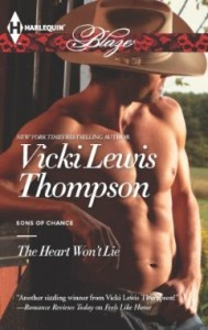 The Heart Won't Lie (Sons of Chance)  by Vicki Lewis Thompson