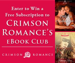 #Giveaway:  Anne Marie Becker, Crimson Romance, Nicky Penttila