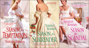 #Giveaway:  G. G. Vandagriff, Lucy Woodhull, Theresa Romain