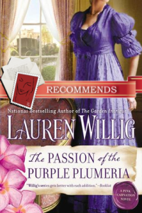 REVIEW:  The Passion of the Purple Plumeria by Lauren Willig