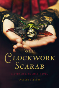 REVIEW:  The Clockwork Scarab by Colleen Gleason