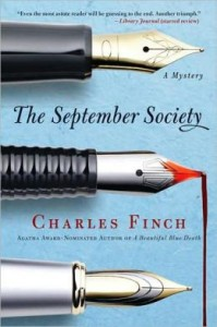 The September Society (Charles Lenox Series #2) by Charles Finch