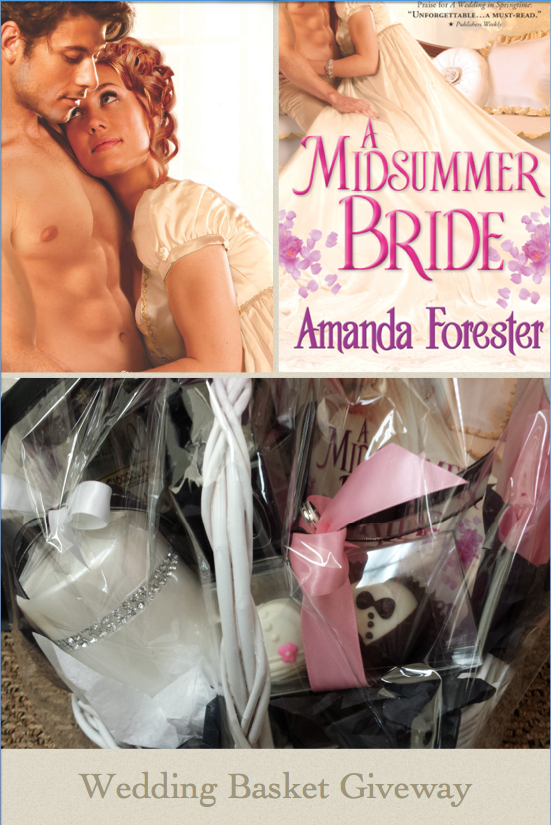 Sourcebooks Giveaway for Amanda Forester's Midsummer Bride