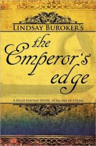 The Emperor's Edge (a high fantasy mystery in an era of steam) by Lindsay Buroker