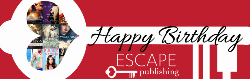 Happy Birthday Escape Publishing & Bundle Giveaway