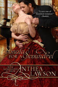 Sonata for a Scoundrel by Anthea Lawson