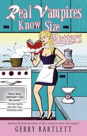 REVIEW:  Real Vampires Know Size Matters (Glory St. Clair #10) by Gerry Bartlett