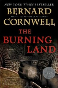 The Burning Land (Saxon Tales #5) by Bernard Cornwell