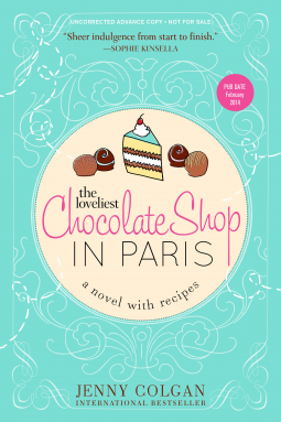 REVIEW:  The Loveliest Chocolate Shop in Paris by Jenny Colgan
