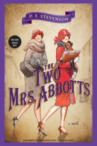 REVIEW:  The Two Mrs. Abbotts  by D.E. Stevenson