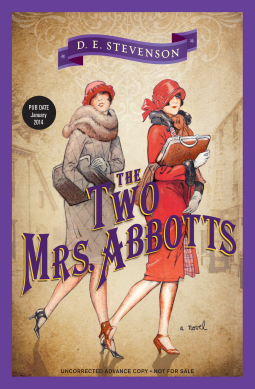 REVIEW:  The Two Mrs. Abbotts  by D.E. Stevenson