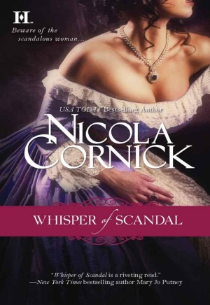 REVIEW:  Whisper of Scandal by Nicola Cornick