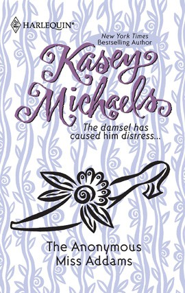 REVIEW:  The Anonymous Miss Addams by Kasey Michaels