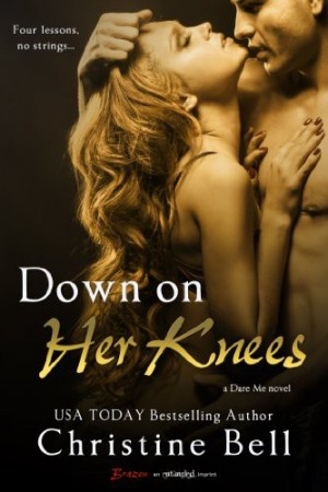 REVIEW:  Down on Her Knees by Christine Bell