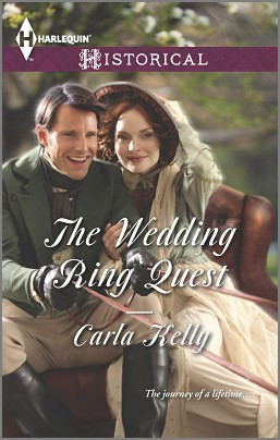REVIEW:  The Wedding Ring Quest by Carla Kelly