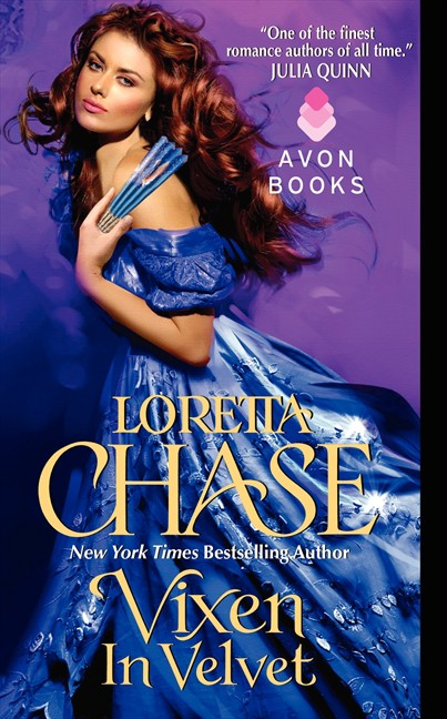 REVIEW:  Vixen in Velvet by Loretta Chase