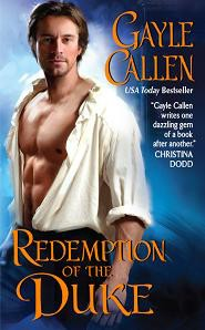 REVIEW:  Redemption of the Duke by Gayle Callen