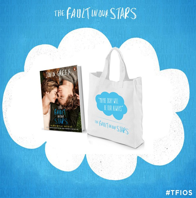 Giveaway A Fault in Our Stars