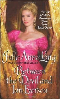 REVIEW:  Between the Devil and Ian Eversea by Julie Ann Long
