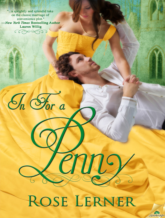 REVIEW:  In For a Penny by Rose Lerner